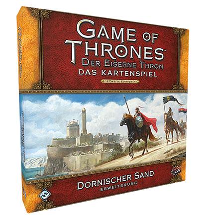 Der Eiserne Thron - Das Kartenspiel 2. Edition - Dornischer Sand Erweiterung