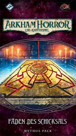 Arkham Horror - Das Kartenspiel - Fäden des Schicksals (Mythos-Pack Vergessene Zeitalter 1)