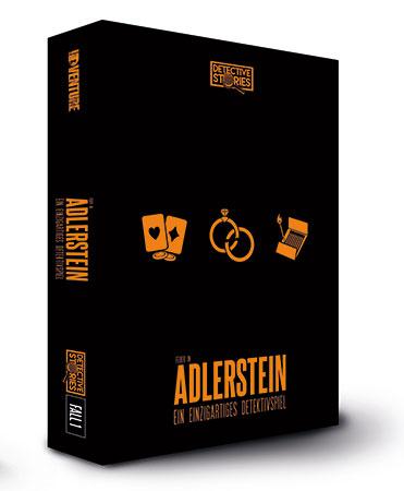 Detective Stories - Fall 1: Das Feuer in Adlerstein - Detektivspiel für zu Hause