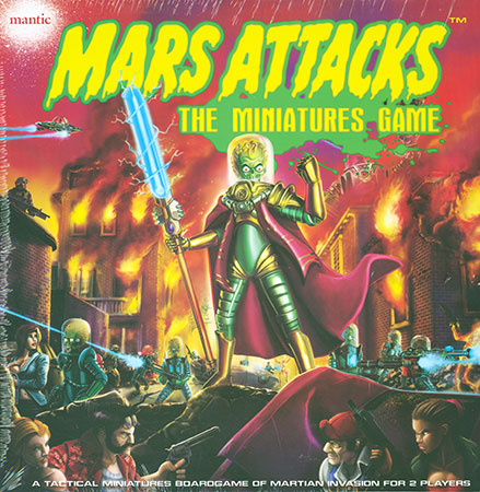 Mars Attacks - Miniaturenbrettspiel (engl.)