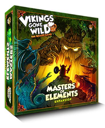Vikings Gone Wild - Master of Elements Expansion (English)