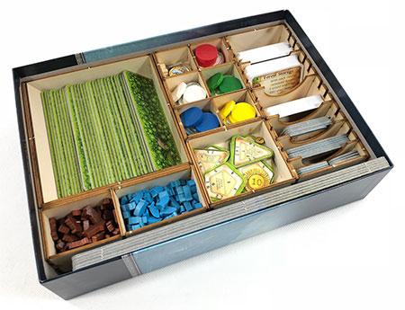 Geekmod - Sortierbox aus Holz für Nusfjord