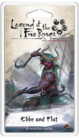 Legend of the 5 Rings - Das Kartenspiel - Ebbe und Flut Dynastie-Pack (Elementar 4)