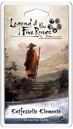 Legend of the 5 Rings - Das Kartenspiel - Entfesselte Elemente Dynastie-Pack (Elementar 6)