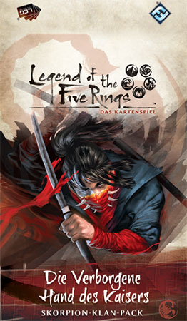 Legend of the 5 Rings - Das Kartenspiel - Die Verborgene Hand des Kaisers - Skorpion-Klan-Pack