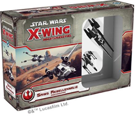 Star Wars: X-Wing - Saws Rebellenmiliz Erweiterungspack