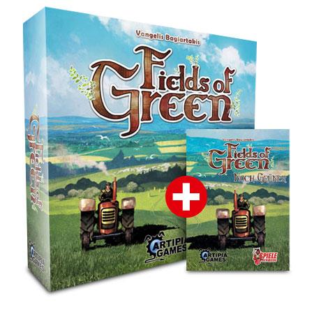 Fields of Green - Grundspiel inklusive Noch Grüner Erweiterung Bundle