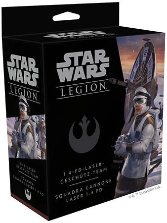 Star Wars: Legion - 1.4-FD-Lasergeschütz-Team Erweiterung