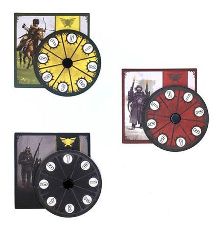 Scythe - Power Dials (3er Set)