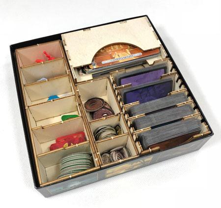 GeekMod - Sortierbox aus Holz für 7 Wonders - Duel