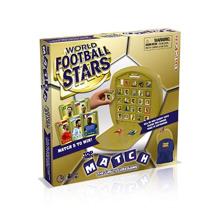 TOP TRUMPS Match - Weltfußball Stars