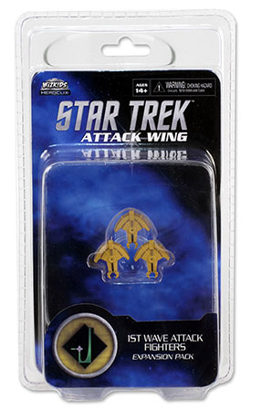 Star Trek Attack Wing - 1st Wave Attack Fighters Exp. Pack