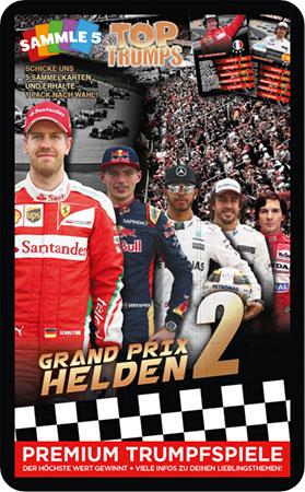 TOP TRUMPS - Grand Prix Helden 2