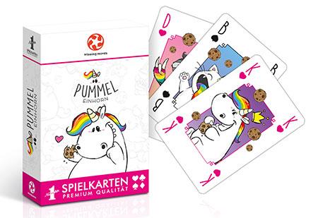Number 1 Spielkarten - Pummeleinhorn