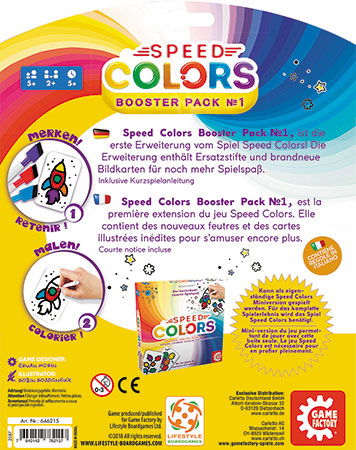 Speed Colors - Erweiterung 1 (Booster-Pack)
