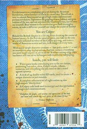 Revolutionaries - American War of Independence RPG (engl.)