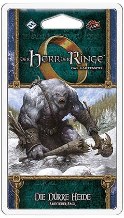 Der Herr der Ringe - Das Kartenspiel: Die dürre Heide Abenteuer-Pack (Ered Mithrin 1)