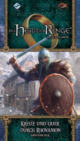 Der Herr der Ringe - Das Kartenspiel: Kreuz und quer durch Rhovanion Abenteuer-Pack (Ered Mithrin 2)