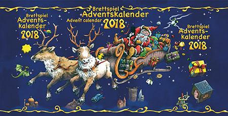 Der Brettspiel - Adventskalender 2018