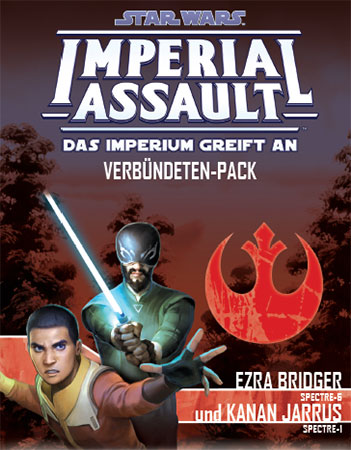 Star Wars: Imperial Assault - Ezra Bridger und Kanan Jarrus Verbündeten-Pack