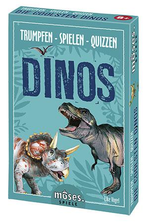 Trumpfen - Spielen - Quizzen: Dinos