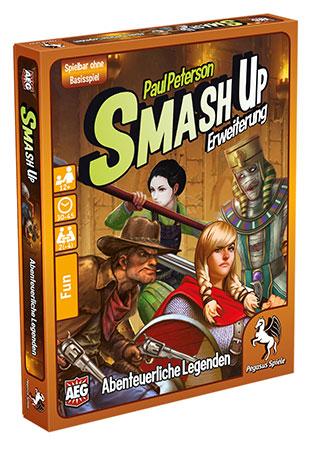 Smash Up! - Abenteuerliche Legenden Erweiterung
