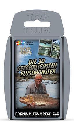 TOP TRUMPS - Die 30 gefährlichsten Flussmonster