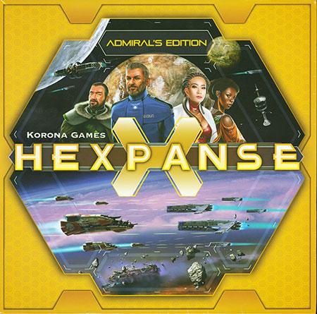 Hexpanse - Admirals Edition (inkl. dt. Anleitung)