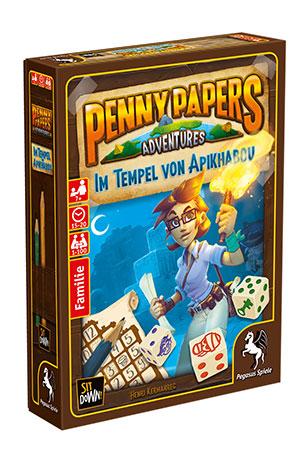 Penny Papers Adventures: Im Tempel von Apikhabou (Pegasusversion)