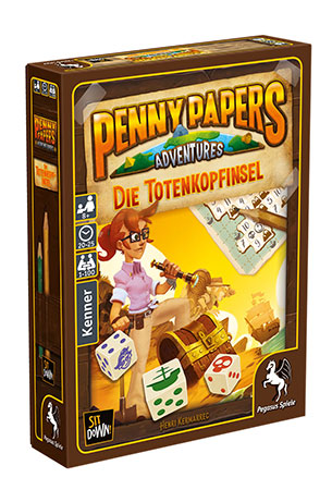 Penny Papers Adventures: Die Totenkopfinsel (Pegasusversion)