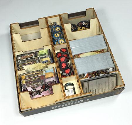 GeekMod - Sortiereinlage aus Holz für LCG (Medium Box)