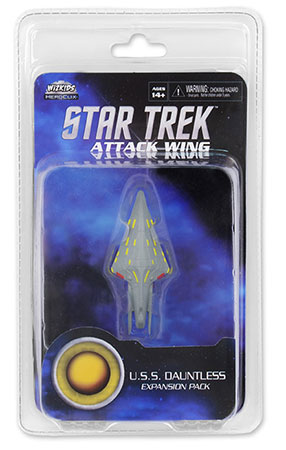 Star Trek Attack Wing - U.S.S. Dauntless Exp. Pack