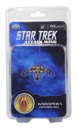 Star Trek Attack Wing - Interceptor Five Bajoran Exp. Pack