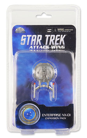 Star Trek Attack Wing - Enterprise NX-01 Federation Exp. Pack