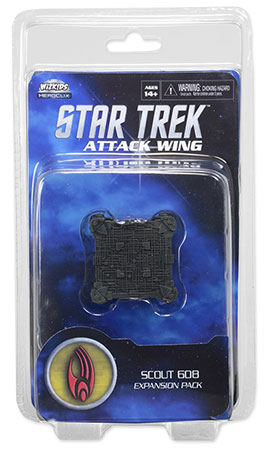Star Trek Attack Wing - Scout Cube 608 Borg Exp. Pack