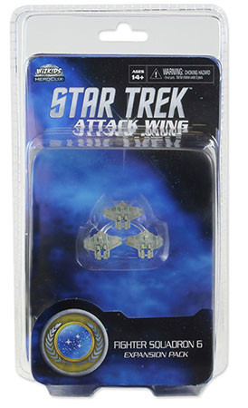 Star Trek Attack Wing - Federation Attack Fighter Squadron 6 Exp. Pack