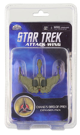 Star Trek Attack Wing - Chang´s Bird of Prey Klingon Exp. Pack
