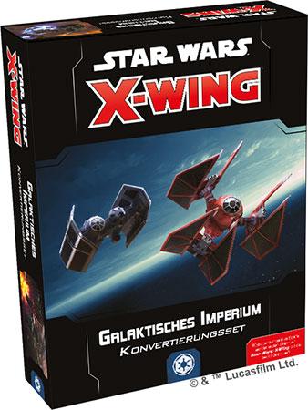 Star Wars: X-Wing 2.Edition - Galaktisches Imperium Konvertierungsset