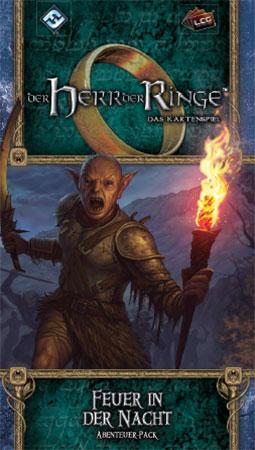 Der Herr der Ringe - Das Kartenspiel: Feuer in der Nacht Abenteuer-Pack (Ered Mithrin 3)