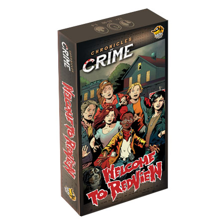 Chronicles of Crime - Redview Expansion (engl.)