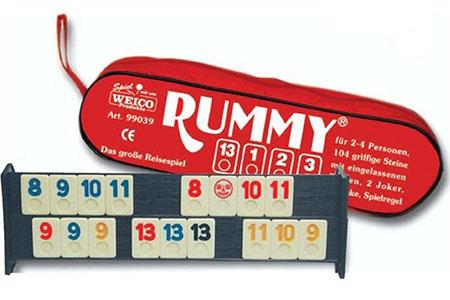 Rummy (4 Farben)
