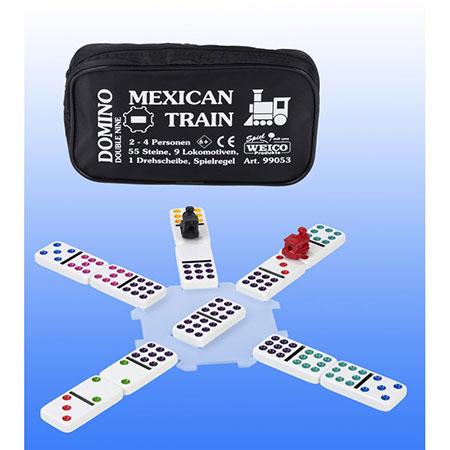 Domino - Mexican Train (Double Nine)