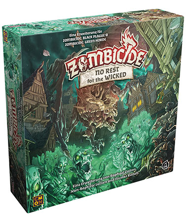 Zombicide - Green Horde - No Rest for the Wicked Erweiterung