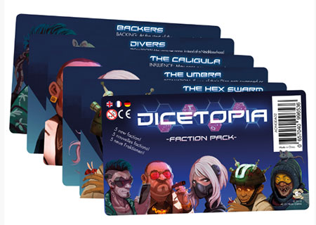 Dicetopia - Faction Pack