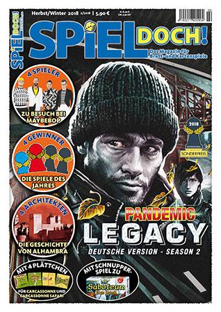 Spiel Doch! - Magazin 02/2018 inkl. Schnupperspiel von Saboteur