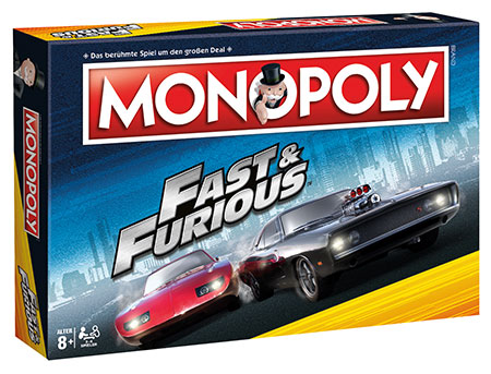 Monopoly - Fast & Furios
