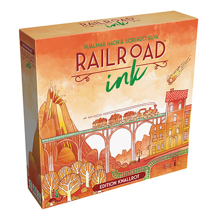 Railroad Ink - Knallrot