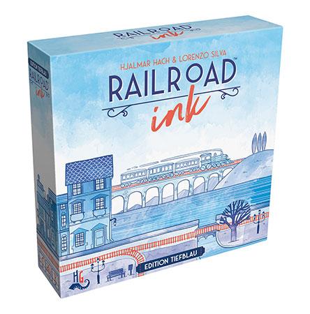 Railroad Ink - Tiefblau