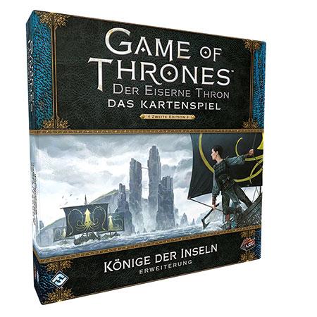 Der Eiserne Thron - Das Kartenspiel 2. Edition - Könige der Inseln Erweiterung