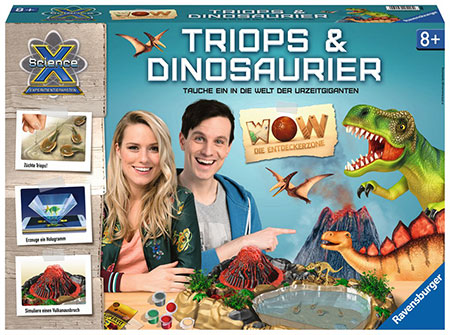 ScienceX - WOW Triops & Dinosaurier (ExpK)